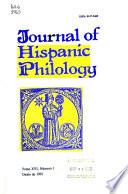 Journal of Hispanic Philology