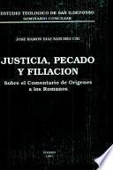 Justicia, pecado y filiación