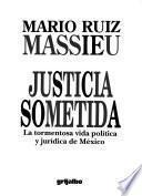Justicia sometida
