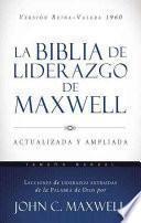 La Biblia de liderazgo de Maxwell RVR60- Tamaño manual