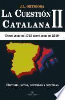 La cuestión catalana II