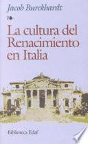 La cultura del Renacimiento en Italia