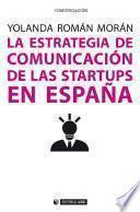 La estrategia de comunicación de las startups en España
