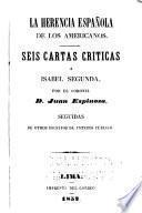 La herencia española de los Americanos