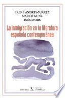 La inmigración en la literatura española contemporánea