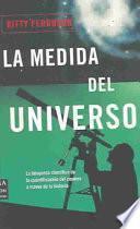 La medida del universo / The measure of the universe