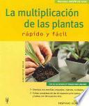 La multiplicación de las plantas