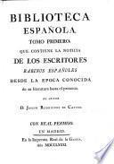 La noticia de los escritores rabinos españoles desde la epoca conocida de su literatura hasta el presente