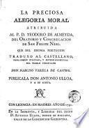 La Preciosa alegoria moral