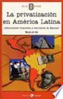 La privatización en América Latina