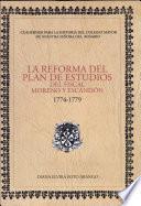 La reforma del plan de estudios del fiscal Moreno y Escandón 1774-1779