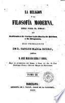 La Religión y la filosofía moderna, 3