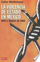 La violencia de estado en México