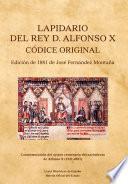 Lapidario de Alfonso X el Sabio. Códice original