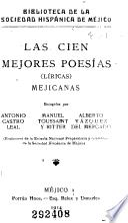 Las cien mejores poesías (líricas) mejicanas