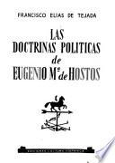 Las doctrinas políticas de Eugenio María de Hostos