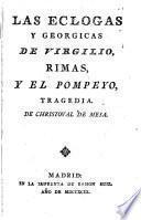 Las Eclogas y Georgicas de Virgilio