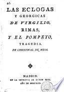 Las Eclogas y Georgicas