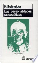 Las personalidades psicopáticas