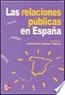 Las relaciones públicas en España