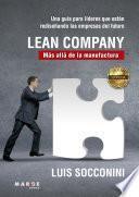 Lean Company. Más allá de la manufactura