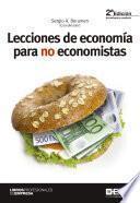 Lecciones de economía para no economistas 2ª edición