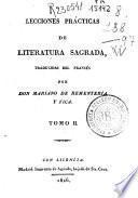 Lecciones prácticas de literatura sagrada: (248 p.)