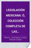 Legislación mexicana