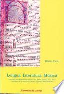 Lengua, literatura, música