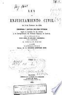 Ley de Enjuiciamiento Civil de 3 de febrero de 1881