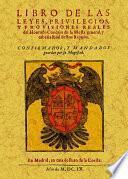 Libro de las leyes, privilegios y provisiones Reales del Honrado Concejo de la Mesta General y Cabaña Real destos Reynos