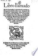Libro llamado Aviso de Privados, y doctrina de cortesanos