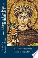 Libros 1 a 3 del Digesto de Justiniano
