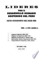Líderes para el desarrollo humano sostenido del Perú