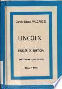 Lincoln, prócer de justicia