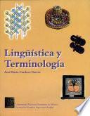 Lingüística y terminología