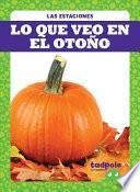 Lo Que Veo En El Otoño (What I See Fall)