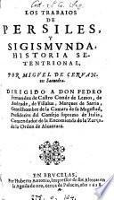 Los trabaios de Persiles y Sigismunda