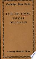 Luis de Leon Poesias Originales