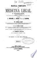 Manual completo de medicina legal y toxicología