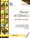 Manual de didáctica