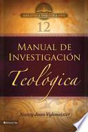 Manual de Investigacion Teologica