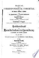 Manual de la correspondencia comercial en dos lenguas