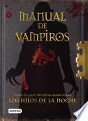Manual de vampiros / Biblio Vampiro