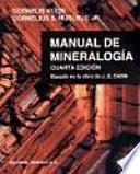 Manual mineralogía. I