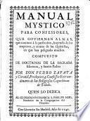 Manual mystico para confessores