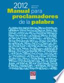 Manual para proclamadores de la palabra 2012 - USA