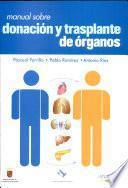 Manual sobre donación y trasplante de órganos