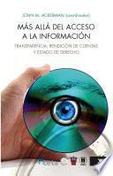Más allá del acceso a la información