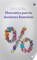 Matemática para las decisiones financieras